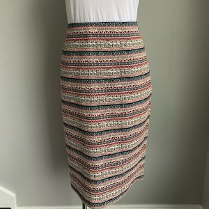 The limited high waist pencil skirt size 12 NWT
